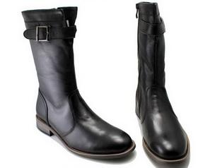 Купить кожаные сапоги женские в интернет магазине